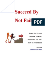 Succeed by NOT Failing!