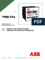 Manual de Instrucciones TMD-T4 TMD-4S IM301-E-AE v2.5
