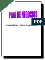 PLAN de NEGOCIOS - Guia Didactica Ajustada