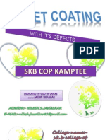 Tablet Coating With Its Defects