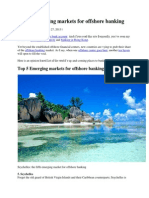 Top 5 Emerging Markets for Offshore Banking