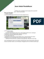 Manual Pendaftaran