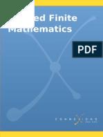 Applied Finite Mathematics V413HAV