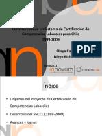 Certificacin de Competencias Laborales Fundacin Chile