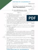 Basic Thermodynamics Jan 2014