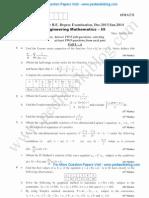 Engineering Mathematics 3
