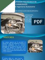 Grupo 6 Autotronica Sistema Monopunto