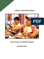 white paper-child obesity
