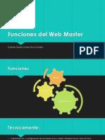 Funciones Del Web Master