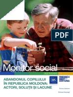 Monitor Social 6 Abandonul Copilului in Republica Moldova (Actori, Solutii Si Lacune)