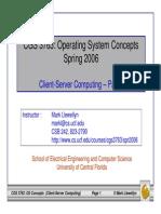 Client-server Computing - Part 1