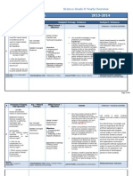 ens adc science grade 8-yearly plan overview-2013-2014