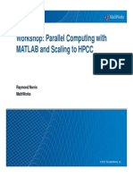Print Workshop Parallel Computing With MATLAB1