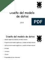 02 Diseno Del Modelo de Datos Def 2013