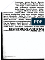 Gloria Ferreira - Escritos de Artistas
