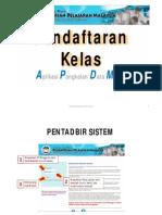 daftar kelas apdm
