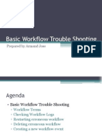 Basic Workflow Trouble Shooting