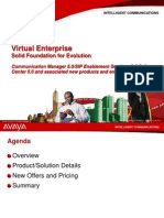 Customer Presentation Communication Manager 5