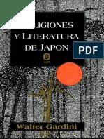 Giardini Walter - Religiones Y Literatura de Japon