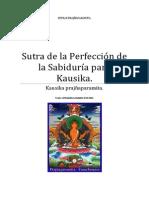 Sutra de la Perfección de la Sabiduría para Kausika