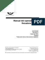 Mill Operators Manual 96-ES8200 Rev a Spanish January 2014