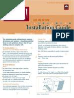 Allan block Installation Guide