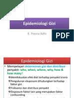 Epid Surveillance Gizi