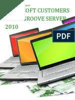 Microsoft Customers using Groove Server 2010 - Sales Intelligence™ Report
