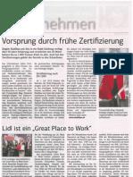 2014_03_28 SBG Wirtschaft Zertifizierung