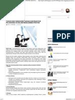 Tugas Dan Tanggung Jawab Kontraktor Pelaksana Di Dalam Manajemen Proyek _ Teknik Sipil