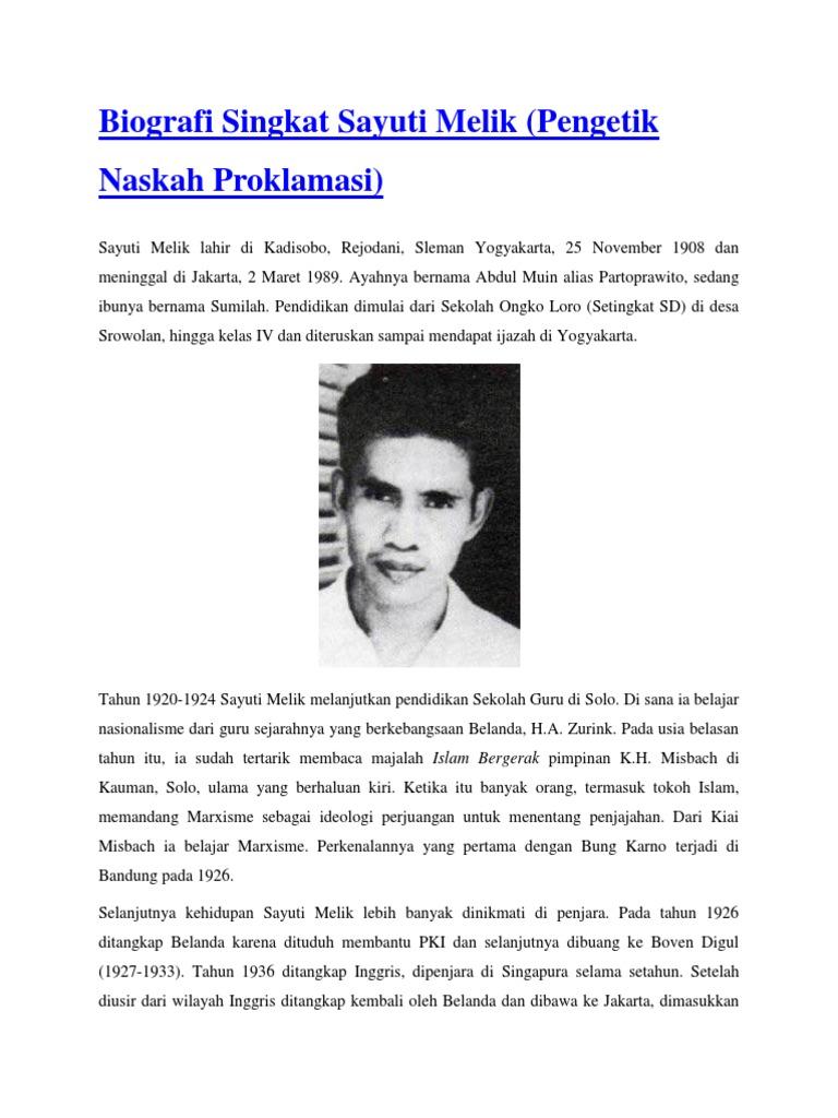 Contoh Teks Biografi Singkat Just4udakar Com