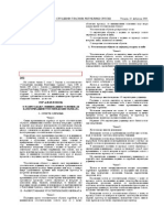 Pravilnik o Minimalnim Uslovima Razvrstavanju i Kategorizaciji Ugostiteljskih Objekata