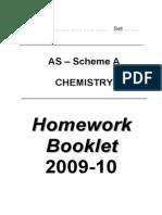 Homework Booklet [a]