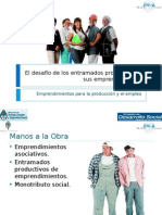 Presentación para el taller de entramados productivos y emprendimientos