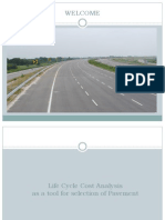 LCCA as a Tool for Selection of Highway Pavement type