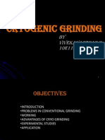 Cryogenic Grinding ppt