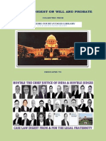 Case Law Digest on Will and Probate