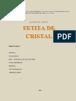 FETIŢA DE  CRISTAL (teatru pentru copii)
