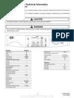 Tech Sheet - W10162408
