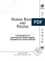 Pocketbook on Laws Related to Prisoners and Detention
