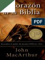 John MacArthur - El Corazón De La Biblia
