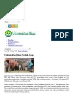 Universitas Riau Peduli Asap PBUD Unri _ SNMPTN Unri _ UM Unri _ Ujian Mandiri Unri _ Ujian Mandiri Bina Lingkungan Unri