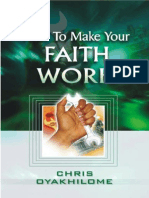 How to Make Your Faith Work By Pastor Chris Oyakhilome