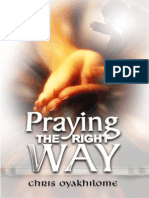Praying the Right Way By Pastor Chris Oyakhilome