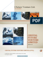 Corporate Profile - Crystal Future Venture Limited