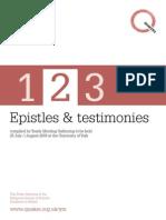 Ymg 2009 Epistles and Testimonies