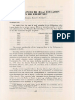 PLJ Volume 52 Number 5 -01- Flerida Ruth P. Romero - The Challenges to Legal Education in the Philippines p. 487-497