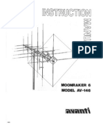 moonraker 6 CB Antenna user manual