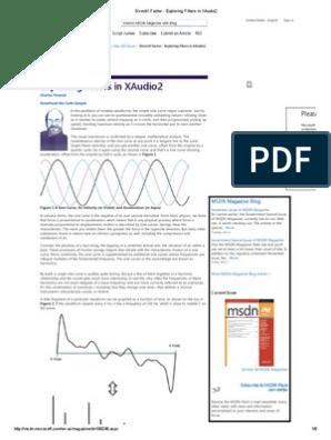 DirectX Factor - Exploring Filters in XAudio2 | Low Pass