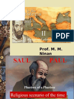 02 Apostle Paul - Background Information